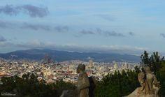 Viendo la Sagrada Familia Natural, Grand Canyon, Barcelona, Spain, Mountains, Summer, Travel, Life, World