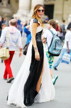 black & white / FASHION EDITOR / Sofia Guellaty / Paris Fall 2012 Couture