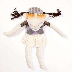 Golfin girl hand sewn doll. Buy it on www.birdiecountry.com golf gift, golf gifts idea, golf gifts for women Gifts For Golfers, Golf Gifts, Baby Gifts, Girls Hand, Hand Sewn, Gifts For Women, Dolls, Unique, Artist