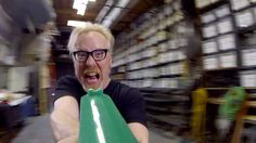 Adam Savage plays a level of the video game Doom based on the real-life MythBusters level created for the recent video games special episode. Tim Willits of id Software was also on hand to check ou...