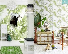 Living la vida tropical! Find more similar pictures in the article. You will love them. #topical #topicalstyle #tropicaldecor