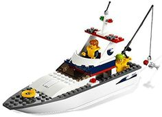 LEGO: City: Fishing Boat LEGO http://www.amazon.com/dp/B004OT4VJE/ref=cm_sw_r_pi_dp_1z16vb1SDEZEN