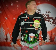 a7a45fb1e53 41 Best Sexy Ugly Christmas sweaters   Jumpers images