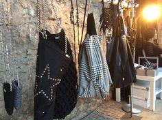 Le borse e le collane di Michela Bruni ecodesign @Mini expo della creatività . Mini