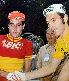 Luis Ocana and Eddy Merckx 1972