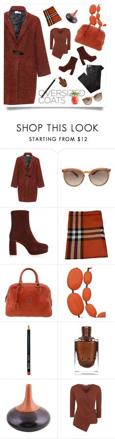 """""""One Size Fits All"""" by deaniefrank ❤ liked on Polyvore featuring Bohème, Valentino, Miu Miu, Burberry, Carolina Herrera, One Button, Bobbi Brown Cosmetics, NOVICA, George and BRAX"""