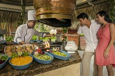 Fresh and healthy, natural gastronomy at Punta Cana, Dominican Republic, Restaurant, Fresh, Table Decorations, Healthy, Natural, Food, Kitchens
