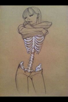 reminds me of one of the Buddha's suggestion to combat lust: imagine what the body is like beneath the skin
