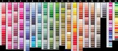 dmc color chart...for when you need it online