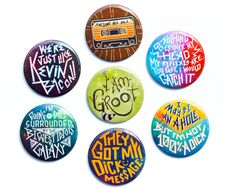 Hey, I found this really awesome Etsy listing at https://www.etsy.com/listing/207191727/guardians-of-the-galaxy-button-set