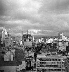 Vista de São Paulo, 1954