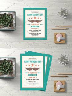 Invitation Flyer, Invitations, Event Flyer Templates, Party Flyer, Photoshop Elements, Best Dad, Happy Fathers Day, Custom Design, Creative