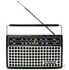 1976 Hitachi Portable Radio
