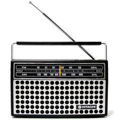 1976 Hitachi Portable Radio - Apartment 528, $50