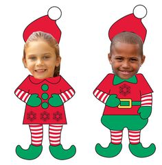 Elf Yourself.... An easy, fun activity for kids to do.  Includes template!