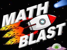 Math Blast - fun game for practicing basic Math skills.