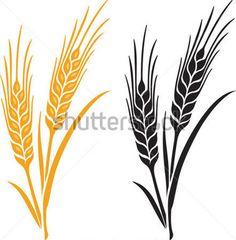 disegni di spighe di grano - Cerca con Google