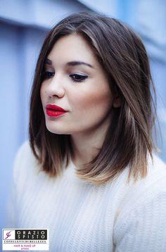 Scopriti più bella prova Long Bob... info: 081 847 5734 #oraziospitoparrucchieri #hairdesigner #parrucchieritorredelgreco