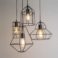 Hanglamp Frame A zwart #qazqa #frame #industrialdesign