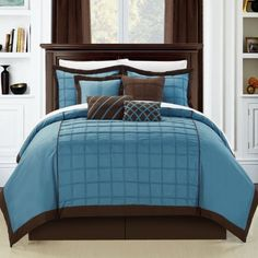 Chic Home Rhodes 8-Piece Comforter Set, Queen, Blue Chic Home,http://www.amazon.com/dp/B00GHVD5WG/ref=cm_sw_r_pi_dp_Z7hhtb0JYDX9ZZ0E