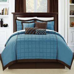 Chic Home Rhodes 8-Piece Comforter Set, Queen, Blue Chic Home,http://www.amazon.com/dp/B00GHVD5WG/ref=cm_sw_r_pi_dp_Z7hhtb0JYDX9ZZ0E