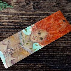 Preparando cosillas para el día del libro 🍃🌿! #bookmark #illustration #art #artoftheday #watercolor #draw #drawing #design #graphicdesign #designer #illustrator #photooftheday #picoftheday #bookstagram #artist #nature #redhead
