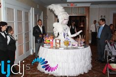 here's and oldie but goodie throwback pic. Walking tables for a whimsical themed event. Candy Stations, Whimsical, Birthday Cake, Entertaining, Desserts, Tables, Walking, Tailgate Desserts, Mesas