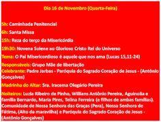 NONATO NOTÍCIAS: PROGRAMAÇÃO FESTA CRISTO REI - COMUNIDADE DA GAMBO...
