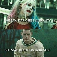 Harley Quinn and the Joker in Suicide Squad. O Joker, Joker Y Harley Quinn, Harley Quinn Tattoo, Joker Cosplay, Superhero Cosplay, Dc Universe, Cartoon Disney, Dc Comics, Hearly Quinn