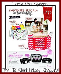 Thirty One Special For November 2014