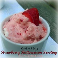 Strawberry Buttercre