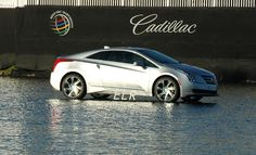 The #Cadillac #ELR on the water at #CadillacChamp #CadillacOfShots #golf #cars