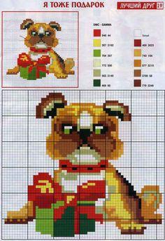Картинки по запросу вышивка год собаки