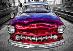 Candy Paint On This Classic