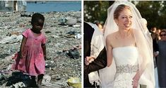 Which of these girls had their dress paid for by Haiti/the Clinton foundation.