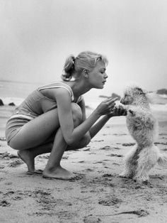 audrey hepburn in mary quant at the beach - Google Search