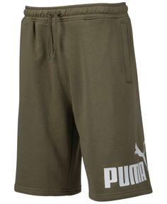 Bold Logo, Fleece Shorts, Man Logo, Kids Socks, Puma Mens, Unisex Baby Clothes, Sporty Look, Women's Socks & Hosiery