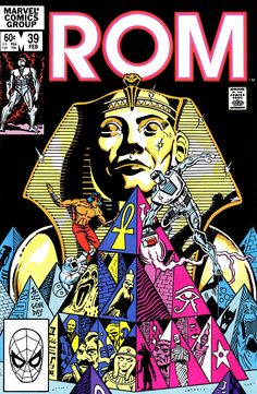 Rom n°39 (February 1983). Cover by Gene Day.
