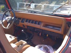 1993 Jeep Wrangler YJ Interior