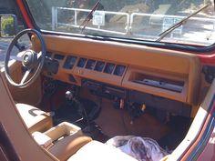 1993 Jeep Wrangler YJ Interior
