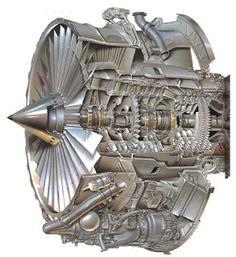 Rolls-Royce RB211-535C Jet Engine, Diesel Engine, Turbofan Engine, Steam Turbine, Jet Fan, Aircraft Engine, Aircraft Design, Military Weapons, Aviation Art