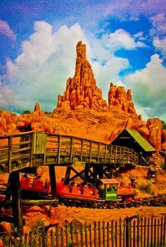 Big Thunder Mountain - My son's favorite ride at DisneyWorld