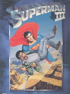 Directed by Richard Lester. With Christopher Reeve, Richard Pryor, Margot Kidder, Jackie Cooper. Synthetic kryptonite laced with tar splits Superman in two: good Clark Kent and bad Man of Steel. Comic Superman, Superman Movies, Dc Movies, Superhero Movies, Good Movies, Movie Sequels, Superman Family, Batman, Christopher Reeve Superman