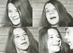 "Atenea-palas: ""Janis Joplin, 02/19/1968 - Pagina facebook Columbia Records stampa di partito © foto da Janis"""