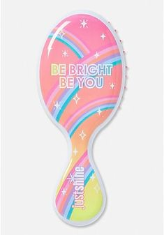 Justice is your one-stop-shop for on-trend styles in tween girls clothing & accessories. Shop our Just Shine Be Bright Be You Wet Brush. Shimmer Lip Gloss, Lip Gloss Set, Portable Shower Head, Good Vibes Pillow, Stylish Watches For Girls, Girl Hair Colors, Flavored Lip Gloss, Cosmetic Brush Set, Wet Brush