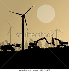 Wind Energy Construction Stock Photos, Images, & Pictures ...
