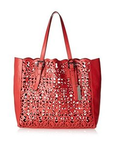 Christian Lacroix Women's Inception Tote, Red