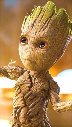 BABY GROOT   GUARDIANS OF THE GALAXY   LIVE WALLPAPERS   By @livtorresec