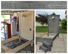theartgirljackie-tutorials: Achieving the Perfect Gray Wood Stain
