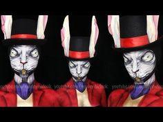 Alice: Madness Returns White Rabbit Makeup Tutorial - YouTube